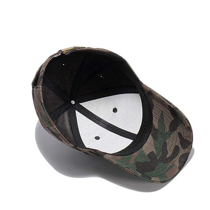 [AKIROKY] Quality Hip Hop Hats Spring Summer Men Women Baseball Cap Camouflage Snapback Bone High-Grade Cotton Sunscreen Caps, K333 Black at Amazon Mens ...