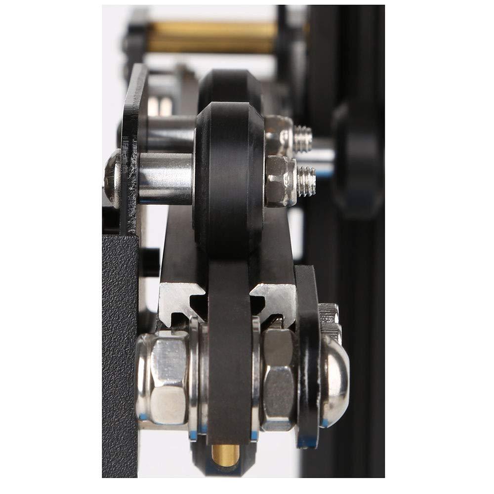 3D Imprimante V-slots Mod/èles Poulie V-slot POM Poulie En Plastique Mod/èles Roulements /à Billes V Roulement Poulie Passive Roues Roulantes Noir 10 Pcs