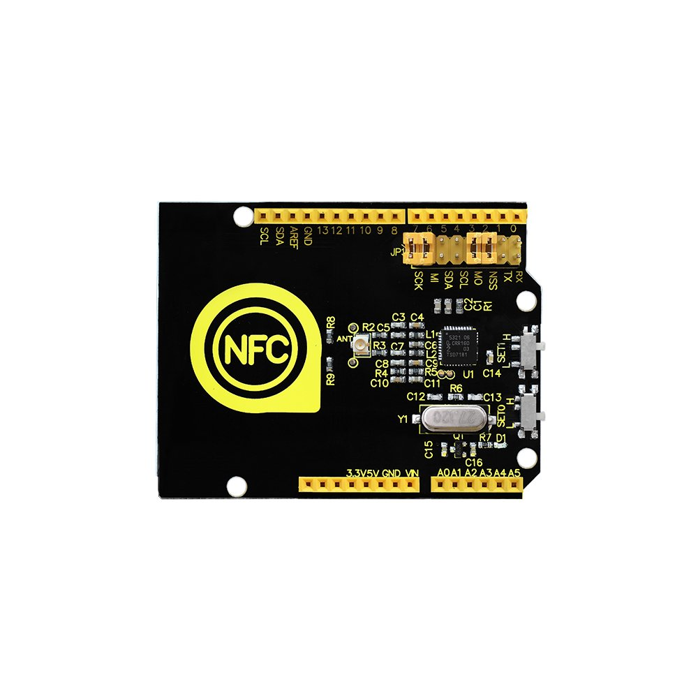 KEYESTUDIO PN532 NFC/RFID Controller Shield for Arduino KS0259