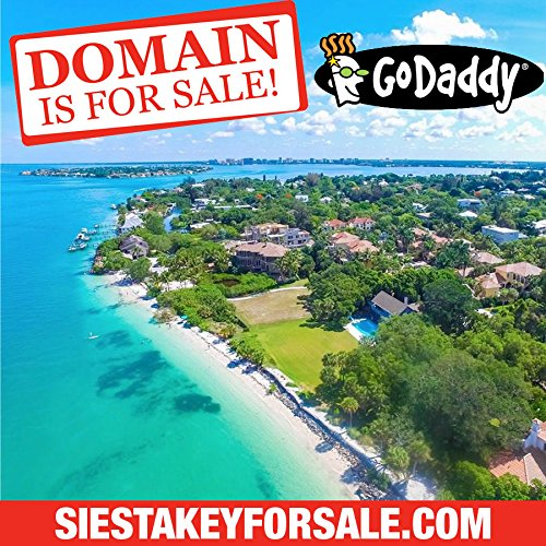 Siesta Key For Sale  Com   Real Estate   Florida Beach   Domain Name   Godaddy