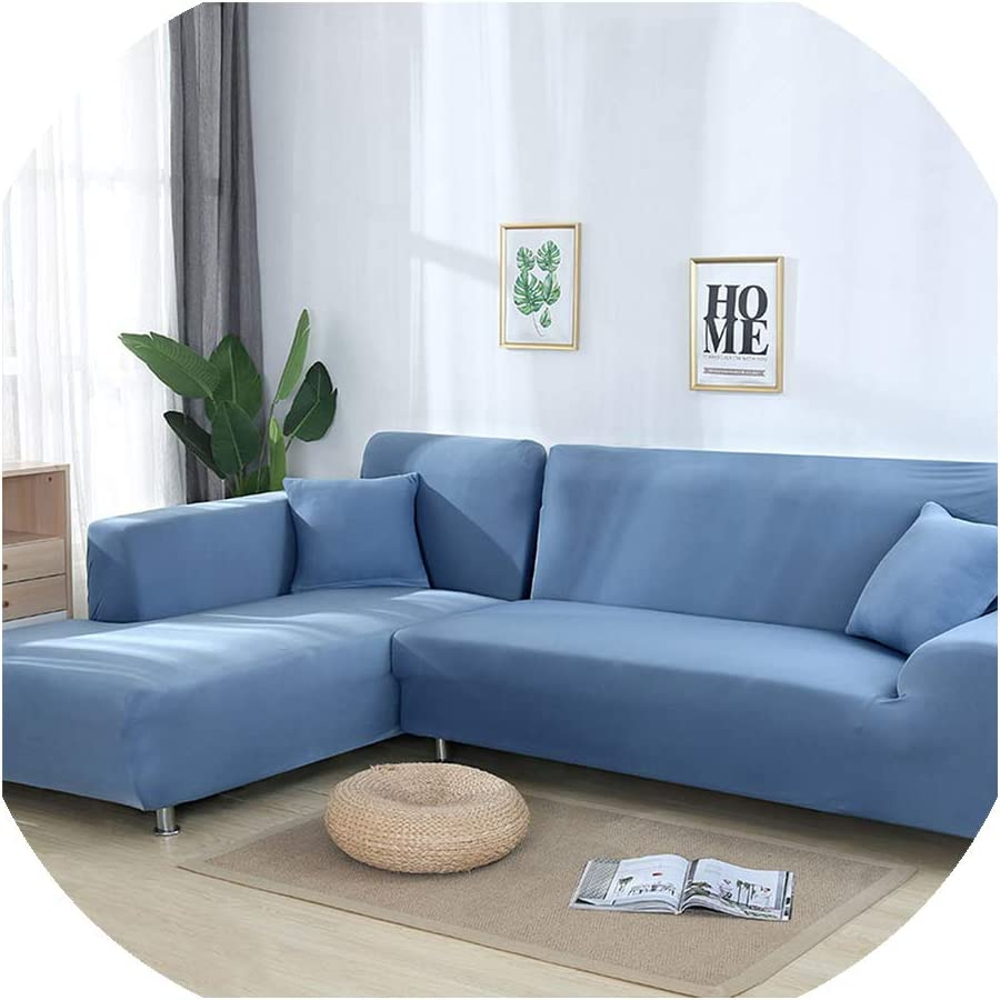 light blue sofa set