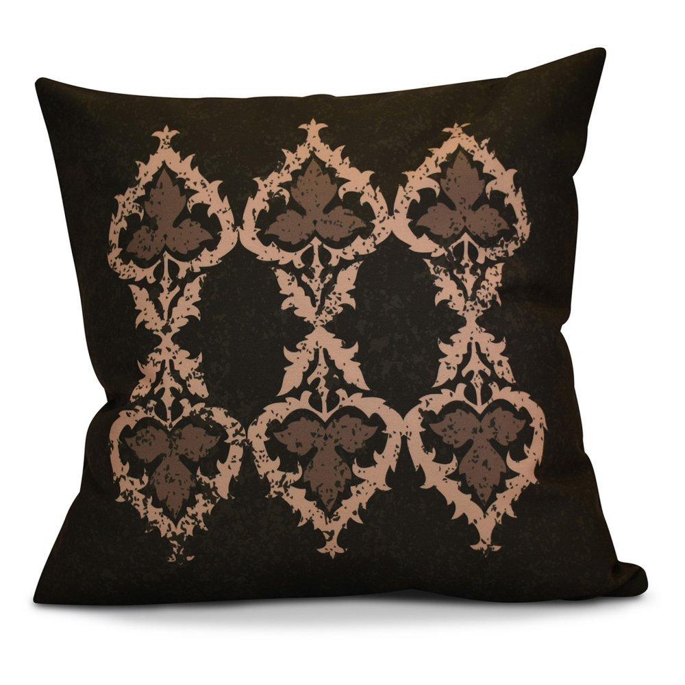 E by design O5PGN731YE13-16 Printed Outdoor Pillow