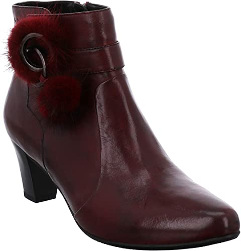 G39238MI90//410 Bordo Gerry Weber Women Ankle Boots red,