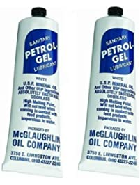 Petrol Gel Food Grade Equipment Lubricant NSF (2 Pack), 2/4 Oz