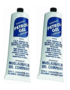 (2 Pack) Petrol Gel Food Grade Equipment LubricantNSF (2/4 oz. Tube)