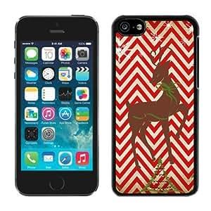 2014 New Style Iphone 5C TPU Case Chevron Iphone 5C TPU Case Christmas Deer Black iPhone 5C Case 2