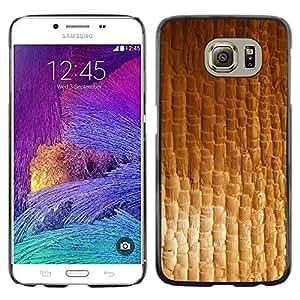 Paccase / Dura PC Caso Funda Carcasa de Protección para - Texture Material Textile Pattern Wallpaper - Samsung Galaxy S6 SM-G920