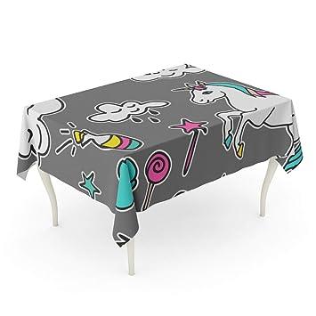 Amazoncom Tinmun Waterproof Tablecloth 52 X 70 Patch