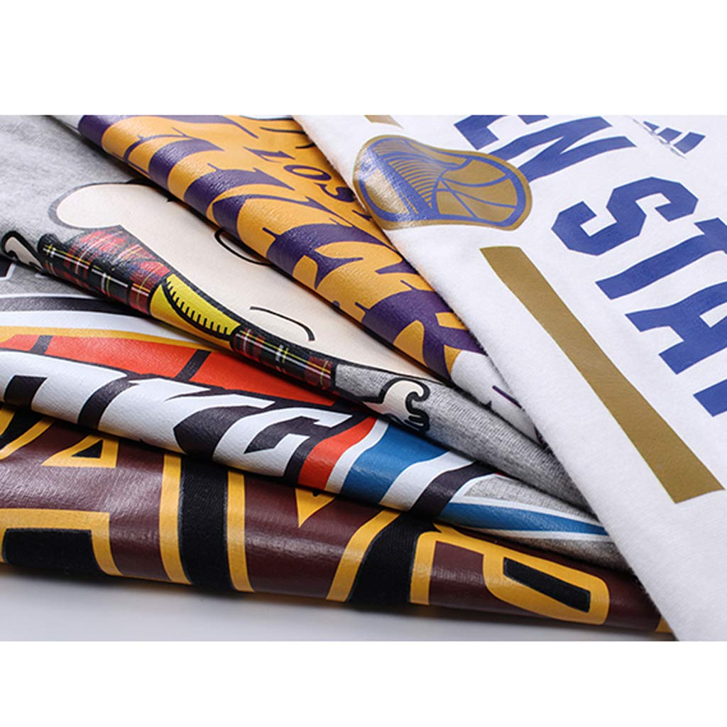 Fitness Hip Hop Golden State Warriors Stephen/·Curry /Ärmelloses Mit Kapuze T-Shirt Stra/ße Basketball Uniform Jersey Herren Sport Tops Printed Weste