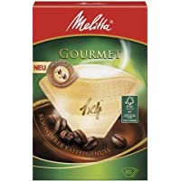 Melitta Gourmet - Filtros de café 1x4, color