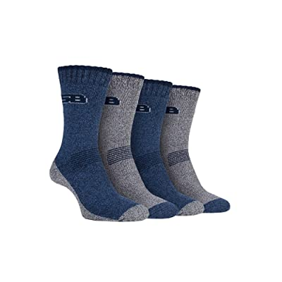 4 Pack Mens Cushion Lightweight Anti Blister Summer Hiking Socks for Hot Weather