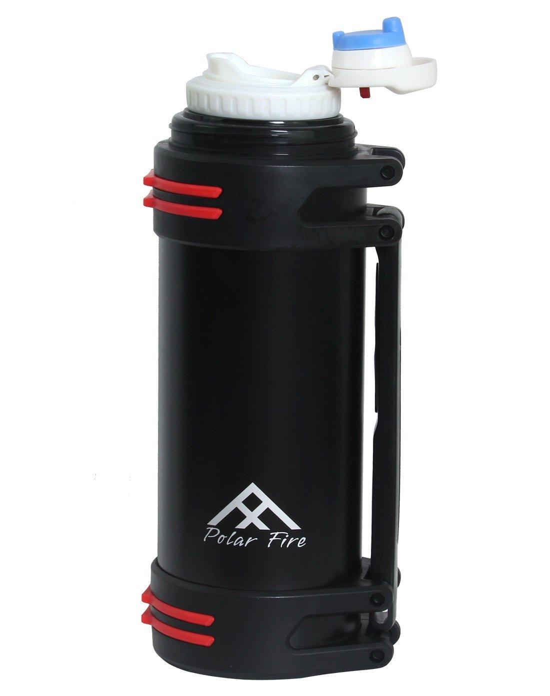 Polar Fire Outdoor Edelstahl Wasser Flasche 2000 ml – Outdoor Sports ...