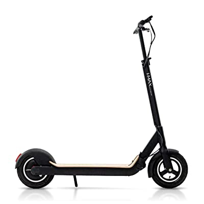 Magnum Premium S1+ Adult Electric Scooter – 500W, Large Capacity 48V/10A Lithium Battery – Easy Fold-n-Carry Design (Natural Wood) : Sports & Outdoors