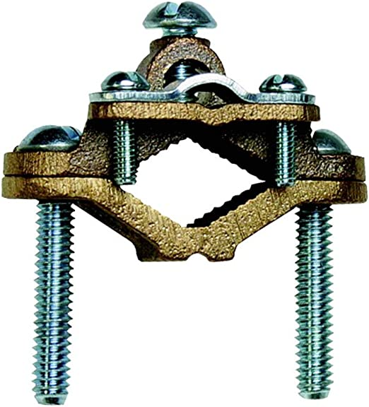 200 A Steel Ground Clamps 1//0 60 Pack