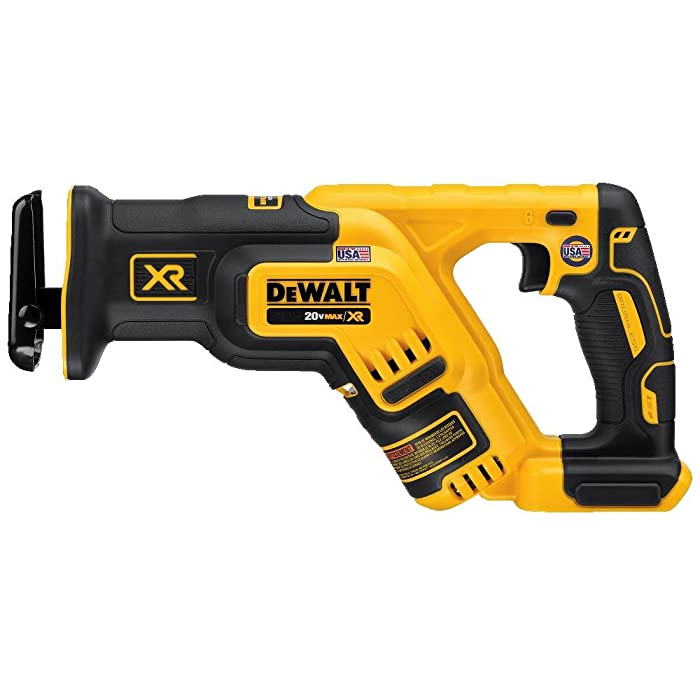 DEWALT DCS367B 20V Max XR Brushless Compact Reciprocating Saw, (Tool Only),