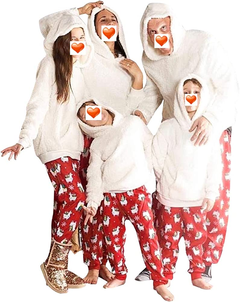 Conjunto de pijamas de Navidad a juego de la familia con ...