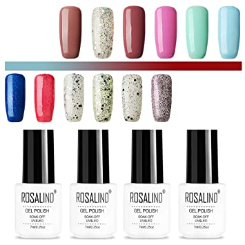 ROSALIND color gel esmalte de uñas semipermanente de larga ...
