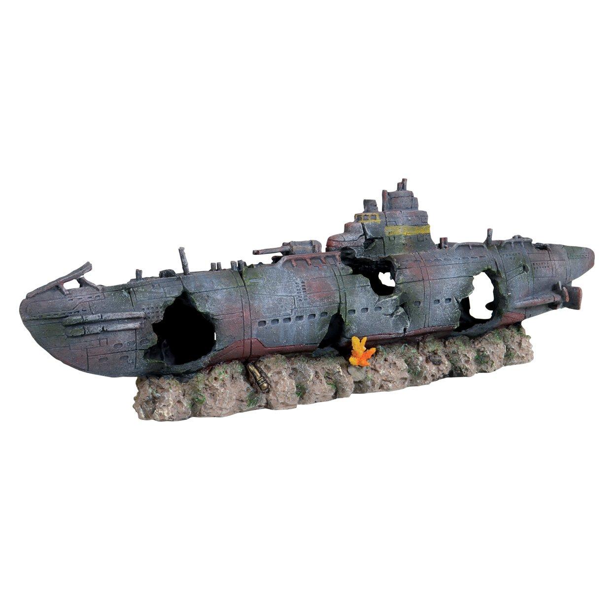 Underwater Treasures Atlantic Sunken Submarine by Underwater Treasures