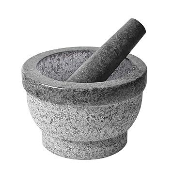 amazon szuah mortar and pestleセット ナチュラルgranite