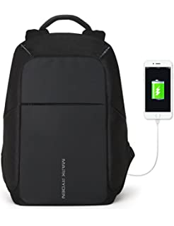 9ddfb57b3487 Markryden Anti-theft Laptop Backpack Business Bags with USB Charging Port  School Travel Pack Fits