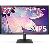 LG モニター ディスプレイ 27MP38VQ-B 27インチ/フルHD/IPS 非光沢/HDMI端子付/ブルーライト低減機能
