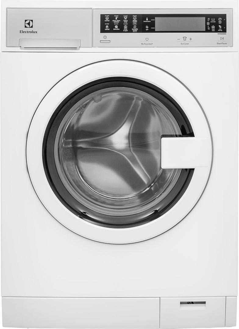 """B0776Z9CJY Front Load Compact EFLS210TIW 24\"""" Washer with EFDE210TIW 24\"""" Electric Dryer Laundry Pair in White 41PflXnQ2RL."""