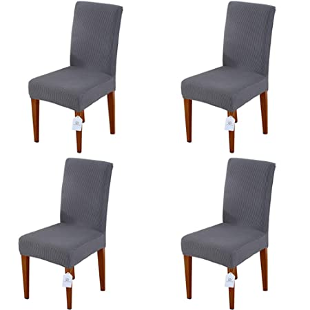 Home & Garden New Fashion Chair Cover Wedding Decoration Solid Colors Polyester Spandex Diner Chair Covers For Wedding Party 6pcs Punctual Timing
