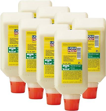 8x Liqui Moly 3345 Handwaschpaste Handreiniger 2l Auto