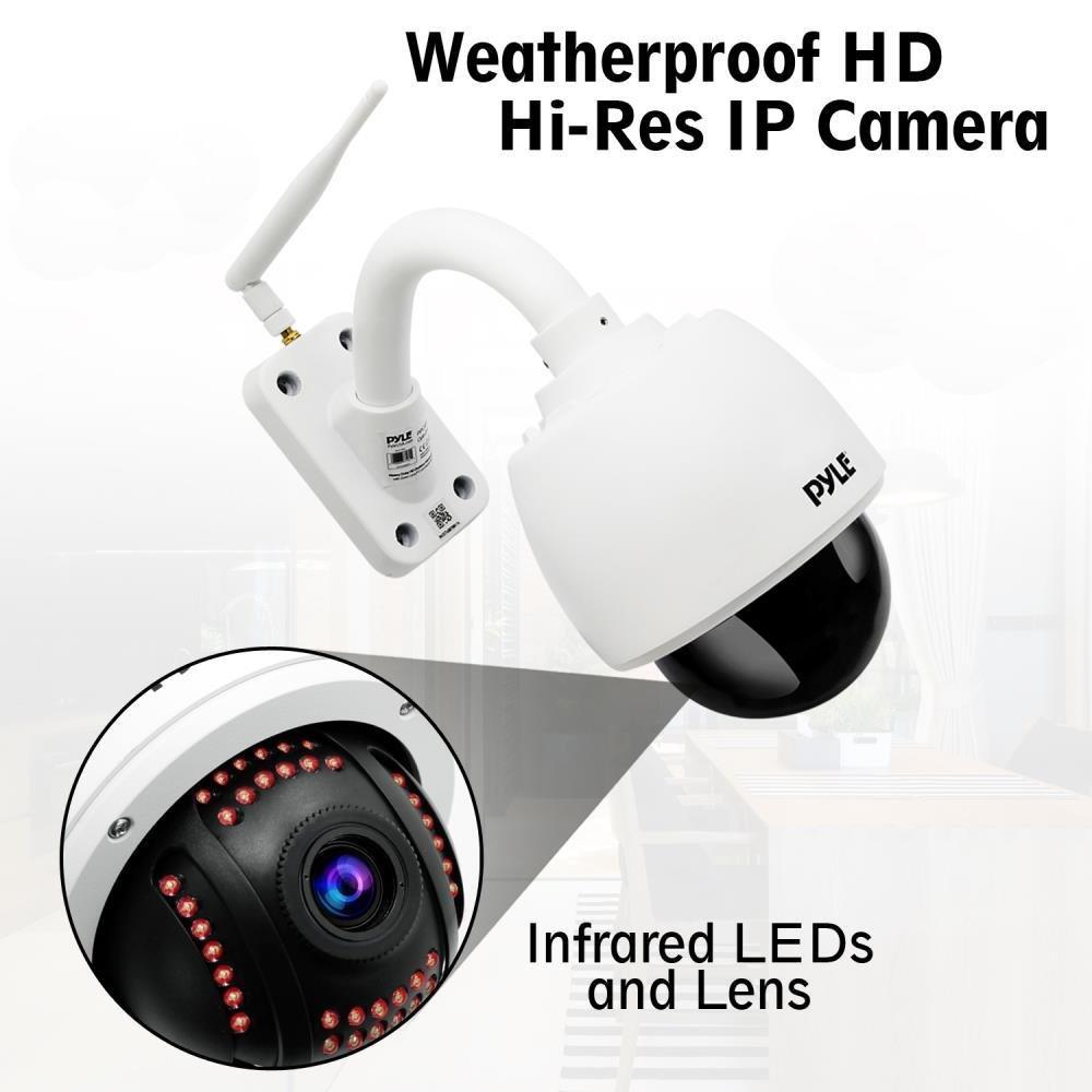 amazon com pyle ptz outdoor ip camera hd 960p weatherproof