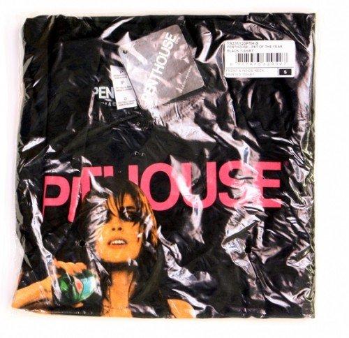 Penthouse Cover T-Shirt, Nero, S–XL, Uomo Unisex adulto Donna, nero, S