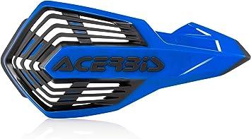 Acerbis X-Future Hand Guard Guardia della mano Bianco//Blu