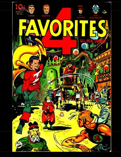 4 Favorites #22: Four Favorite Golden Age Superheroes pdf