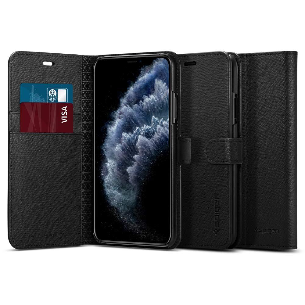 Funda Spigen Wallet S iPhone 11 Pro, Negra