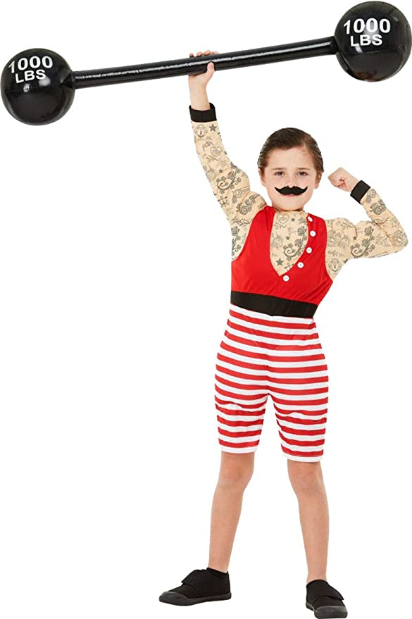 Vintage Style Children's Clothing: Girls, Boys, Baby, Toddler Smiffys Boys Fancy Dress Party Book Week Day Deluxe Strong Boy Costume Outfit $64.49 AT vintagedancer.com