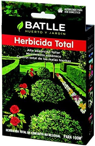 Semillas Batlle 730140UNID Herbicida Total, concentrada 50 ml: Amazon.es: Jardín