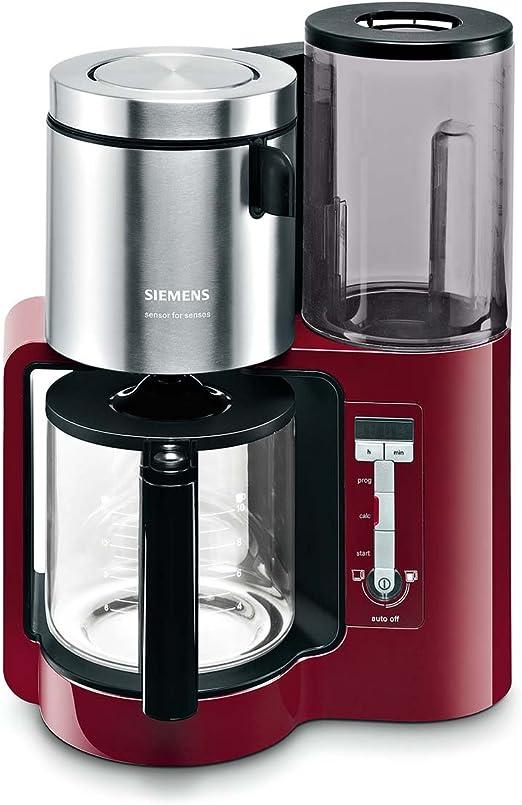 Siemens TC86304 - Cafetera automática (1160 W, 10-15 tazas), color ...