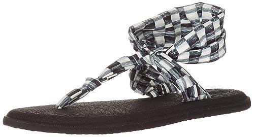 Amazon.com | Sanuk Womens Yoga Sling Ella Prints Sandal ...