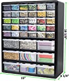 Greenpro 3309 Wall Mount Hardware and Craft Storage Cabinet Drawer Organizer