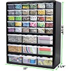 Greenpro Wall Mount Hardware and Craft Storage Cabinet Drawer Organizer