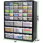 Greenpro Wall Mount Hardware and Craft Storage Cabinet Drawer Organizer