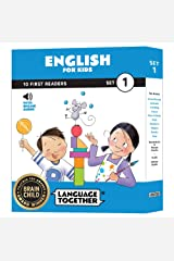 Language Together English: 10 First Reader Books for Kids with Online Audio (Early Reading Books) Set 1 Paperback