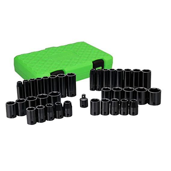 Grip 38 pc Impact Socket Set