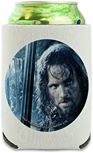 The Lord of the Rings Aragorn Character Can Cooler - Drink Sleeve Hugger Collapsible Insulator - Beverage Insulated Holder