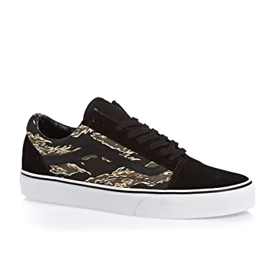 218bfd8af4 VANS OLD SKOOL SHOES Tiger Camo Black Uk10  Amazon.co.uk  Shoes   Bags