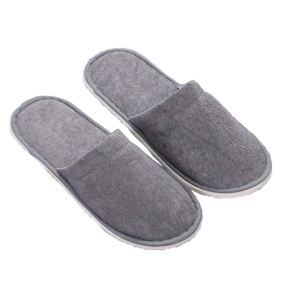 10 pares suave del hotel desechables Zapatillas Spa / Salon zapatillas para el hogar / Viajes, # 01: Amazon.es: Hogar