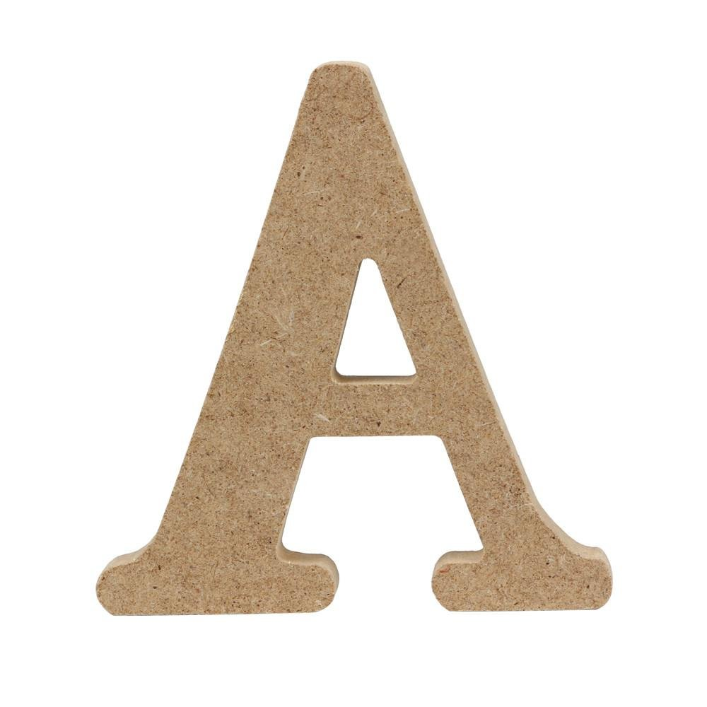 DIY the words you want,Matoen Wood Wooden A-&-Z Letters Alphabet for Wedding Birthday Party Home Decorations (R)