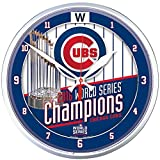 Chicago Cubs World Series Champions Round Wall Clock