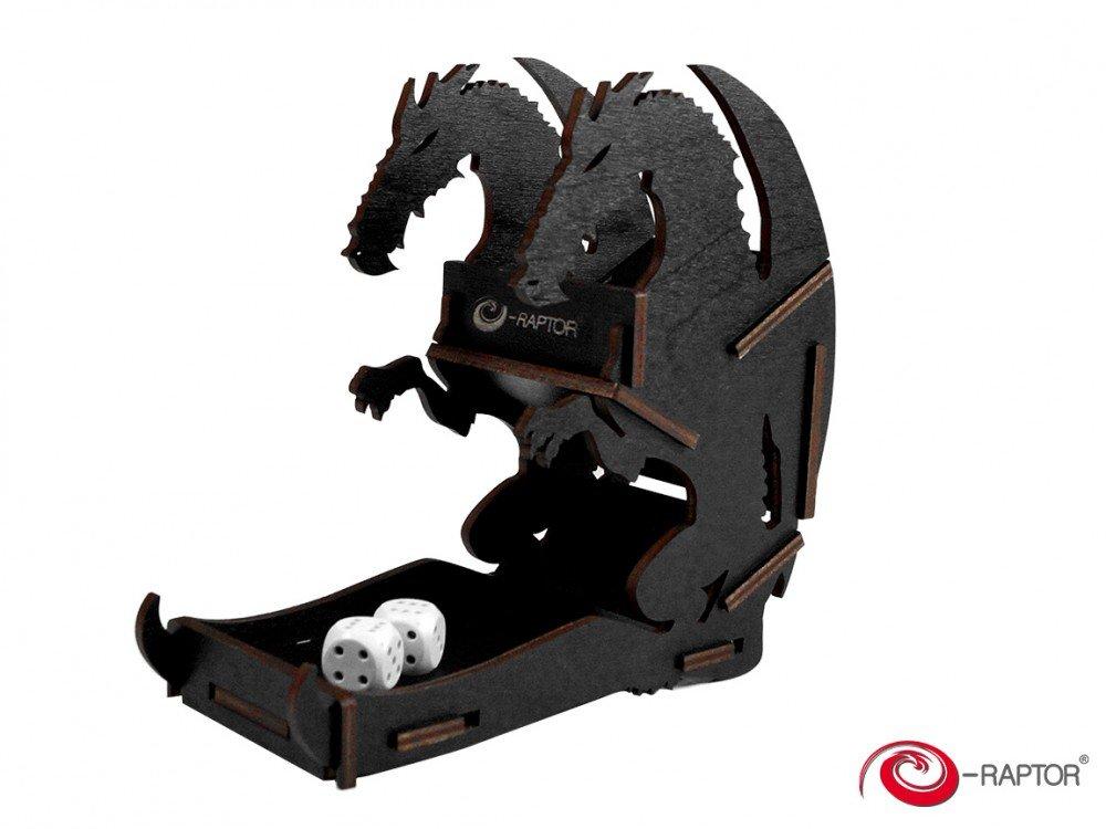 最高の品質 [イーラプター]e-Raptor 木製ダイスタワー ブラック ミニドラゴン (ブラック) (ブラック) B01NGT5VO0 ブラック B01NGT5VO0, 札幌ワインショップ:dd048aa4 --- irlandskayaliteratura.org