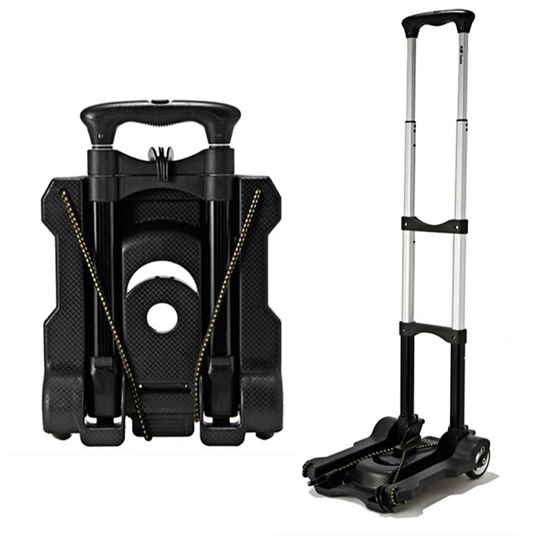 DANSPEED Portable Foldable Outdoor Travel Shopping Cart Supermarket Luggage Trolley