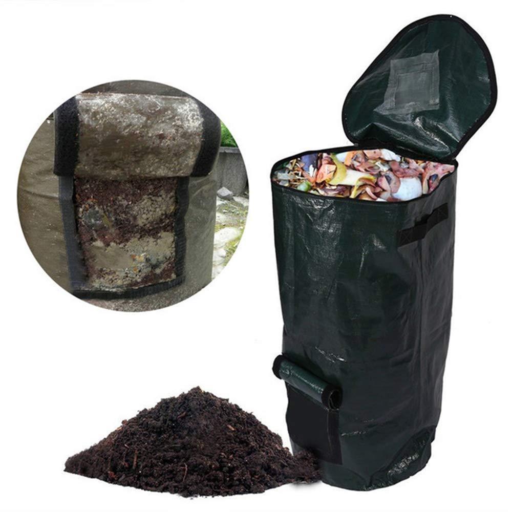 Bolsa de compost de jardín,reciclaje orgánico de residuos de ...